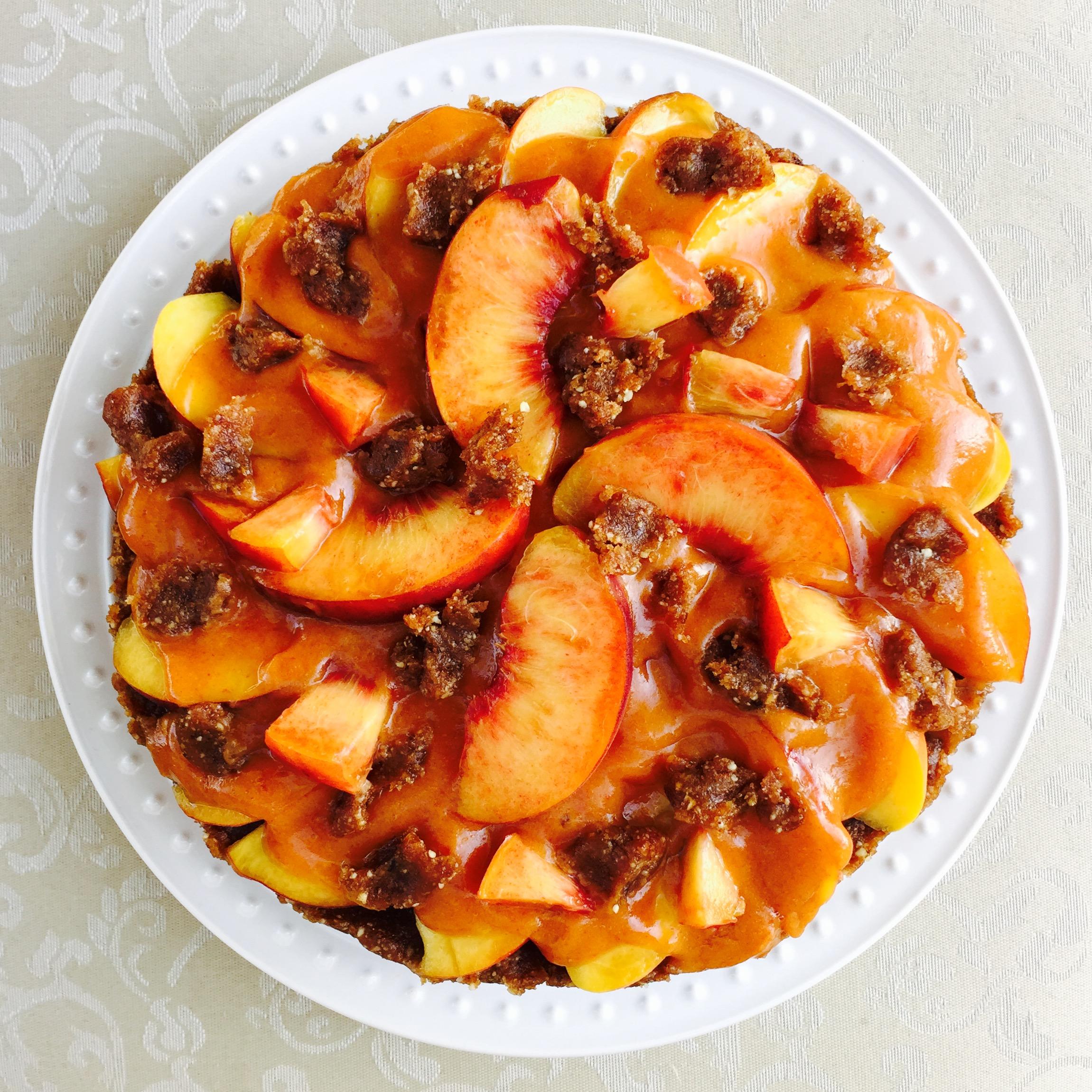 Easy raw dessert no sugar no oil Eat to Live Program friendly recipe
