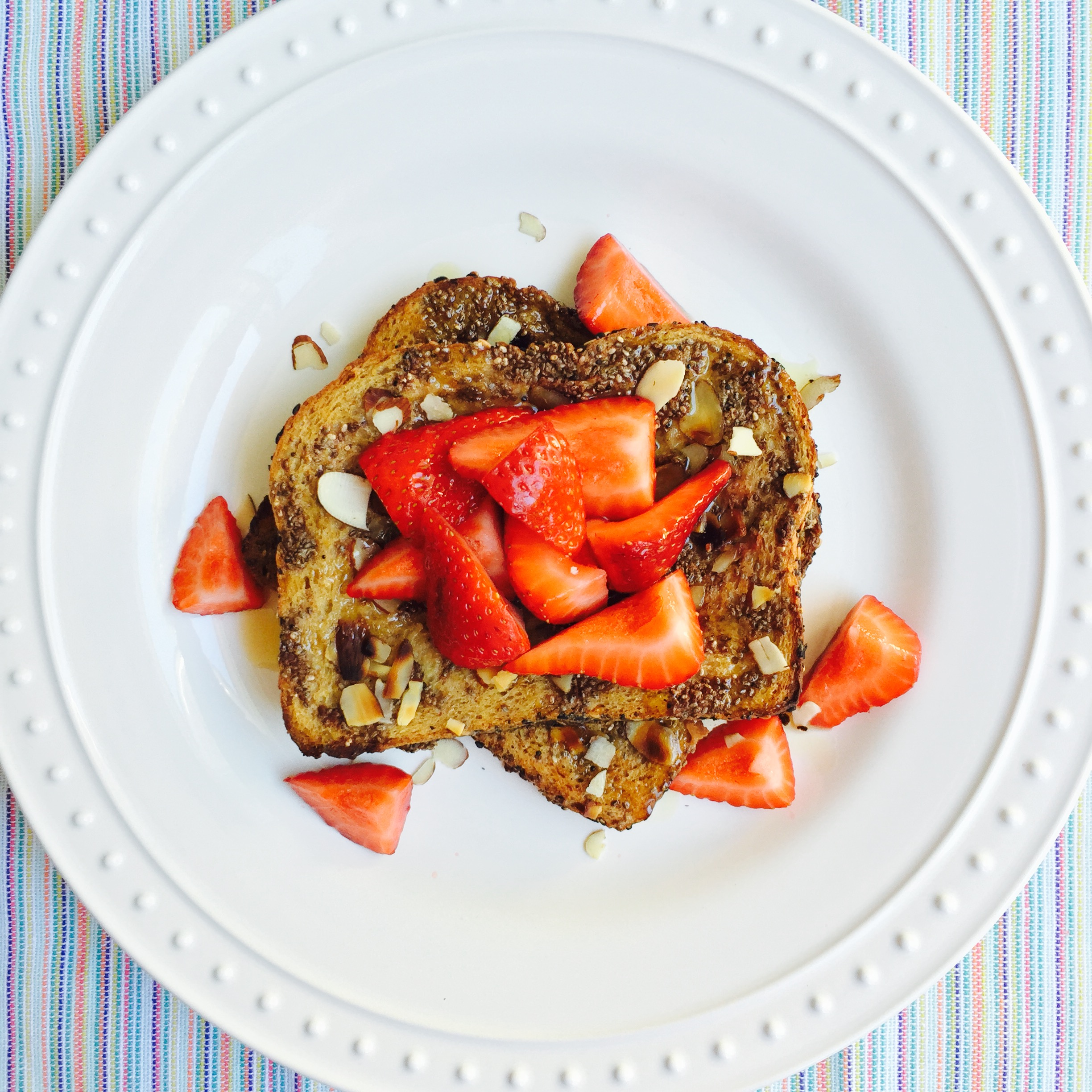 Vegan French Toast Oven Recipe MyMommaToldMe.com