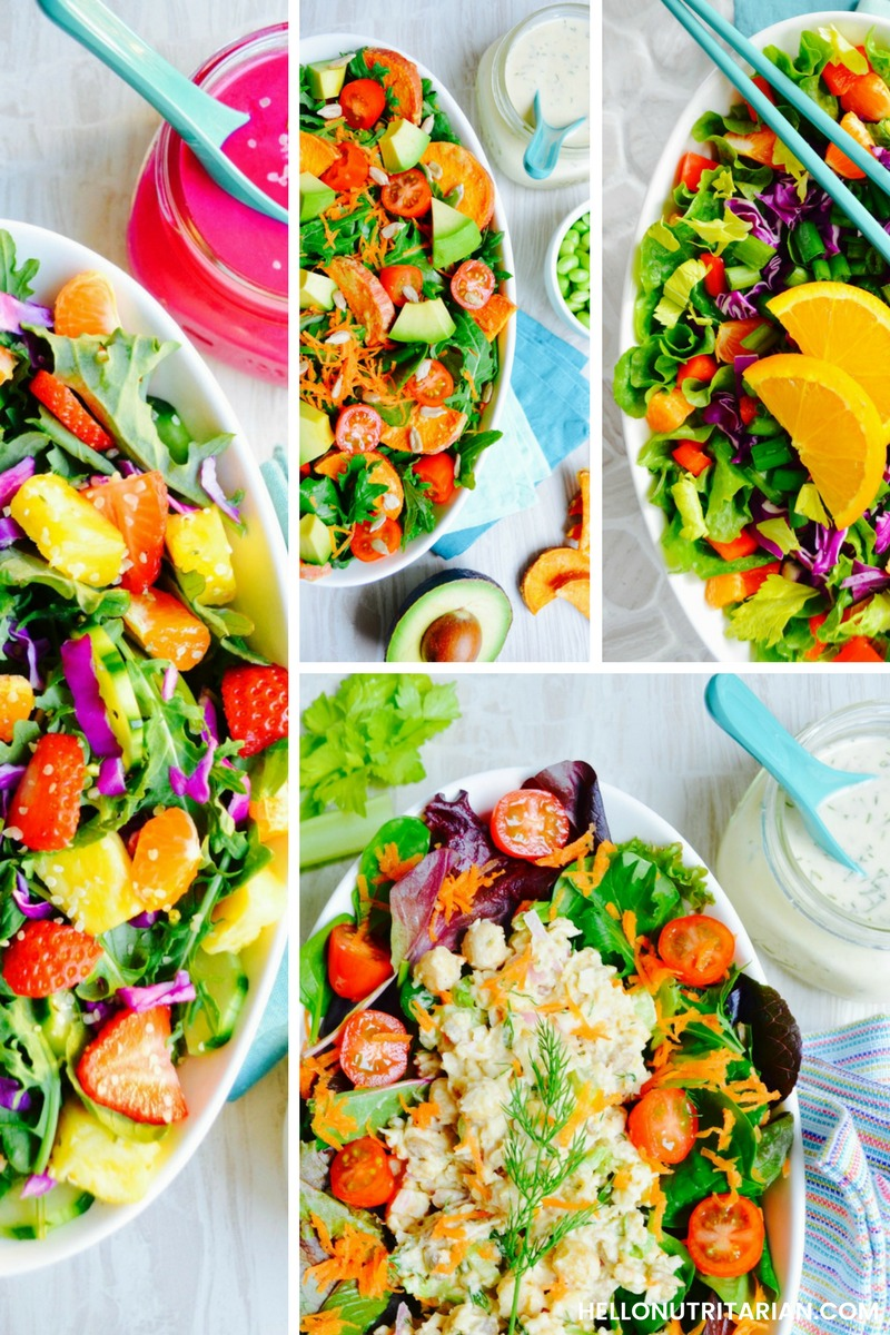 7 Day Salad Cleanse Hello Nutritarian free ebook Dr Fuhrman Eat to live plan dr greger how not to die