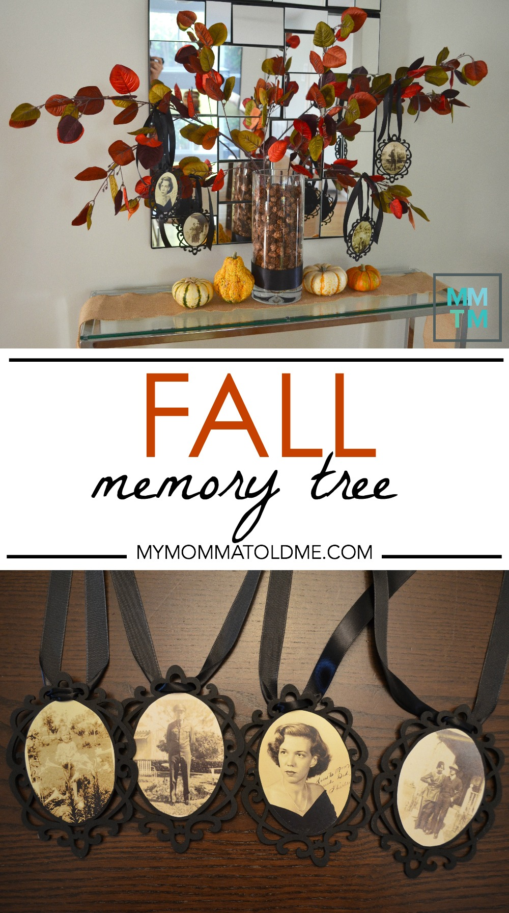 Thankful tree DIY Fall Decor Ideas Fall Family Memory Tree Thankful Tree Rememberance Tree Memorial tree