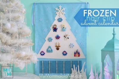 Frozen Advent calendar button