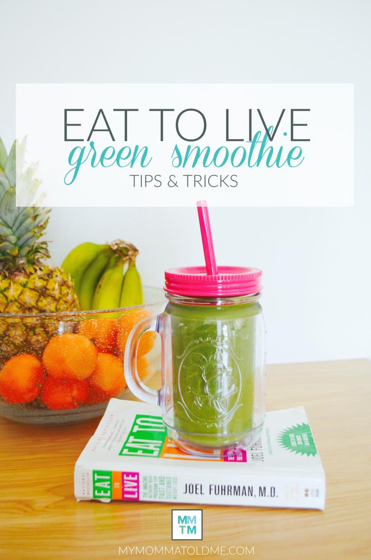 Green Smoothie Eat to Live Program Recipes Dr Fuhrman Nutritarian Lifestyle plan