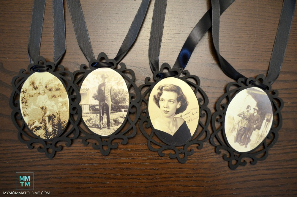 old family photo ornament tutorial vintage photos crafts