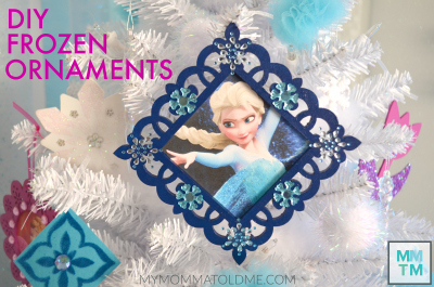 Frozen Chritmas ornaments tutorial Button