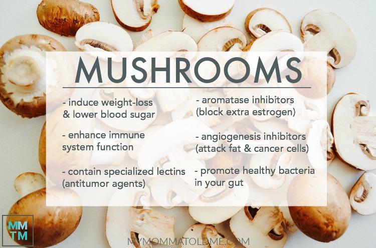 mushrooms sliced mushrooms Dr Fuhrman 6 week eat to live plan Nutritarian program PBS special