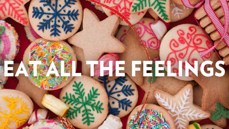 Holiday binge over eating holidays emotional eating