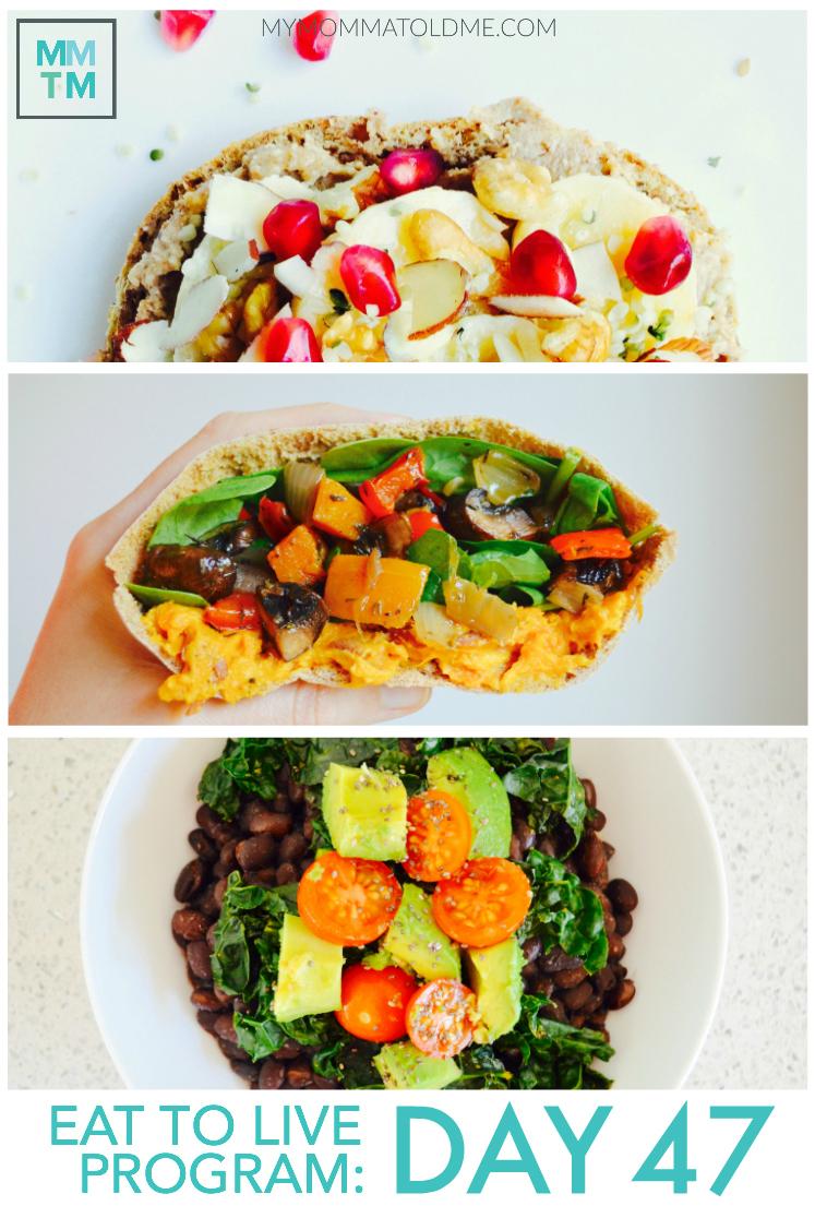 Dr Fuhrman Eat to Live Program Daily Nutritarian Menus Day 47 Eat to Live Program
