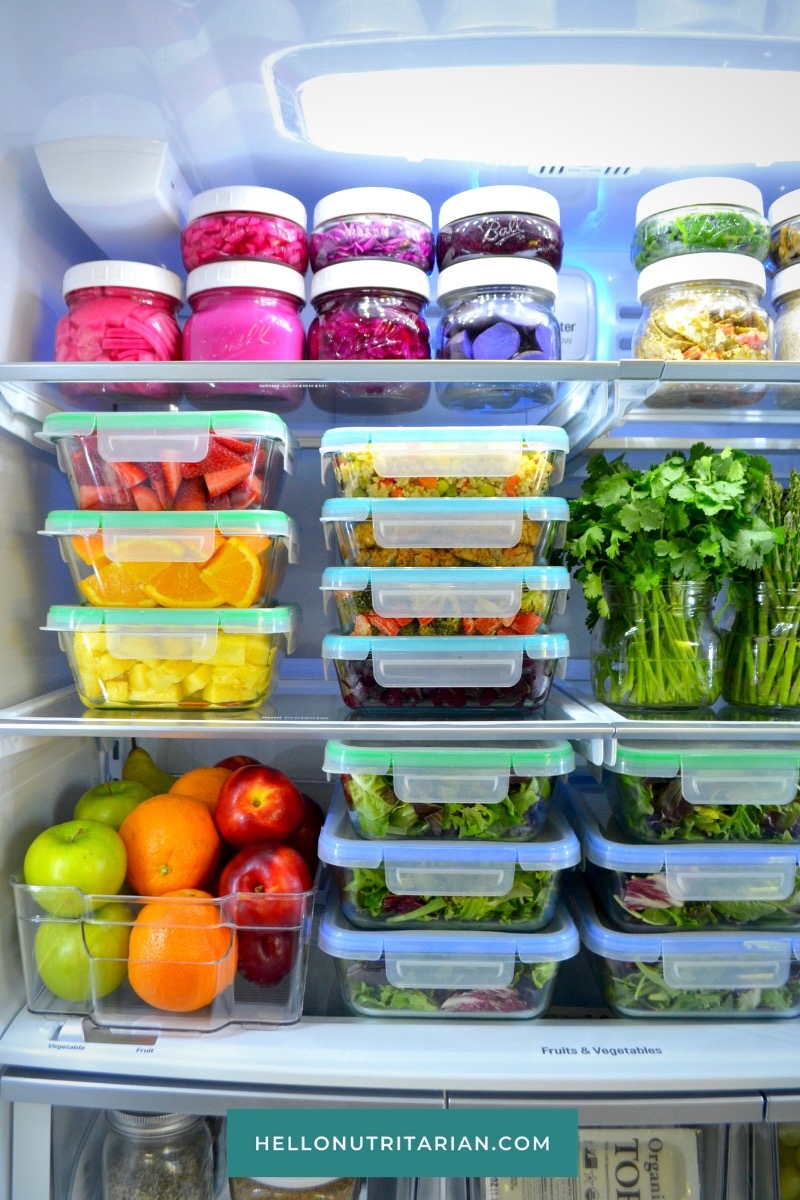 Dr fuhrman Eat to Live diet program 6 week plan hello nutritarian vegan fridge tour refrigerator organization whole food plant based dr greger nutritionfacts