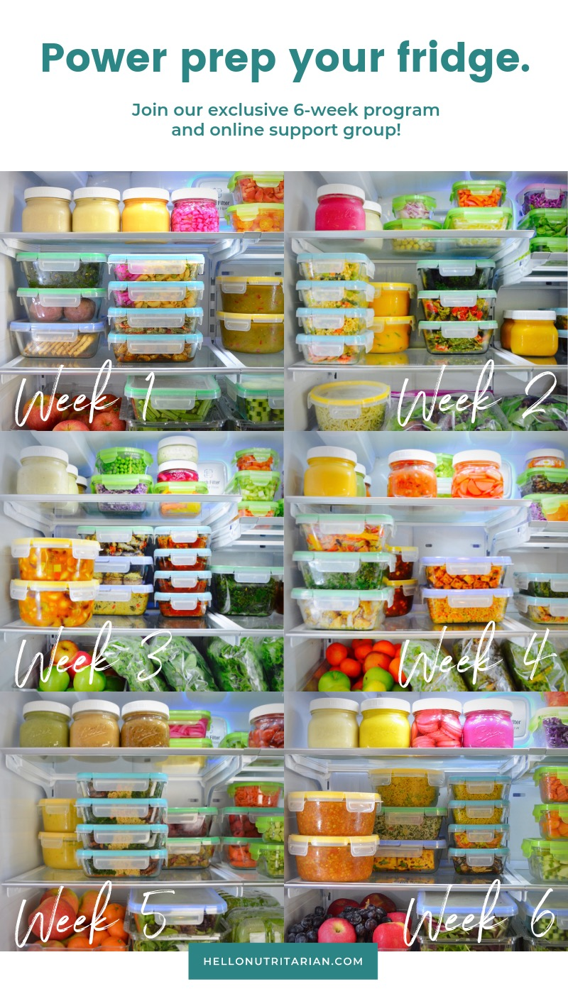 healthy meal prep ideas for the week Hello Nutritarian Prep Plan Dr Fuhrman Diet Dr Greger How Not to Die clean eating meal prep ideas copy