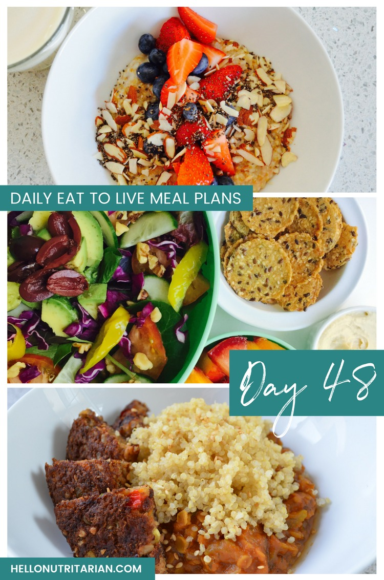 Eat to live menu day 48 hello nutritarian daily eat to live meal plan day 48 whole food plant based diet recipes what the forumfinder