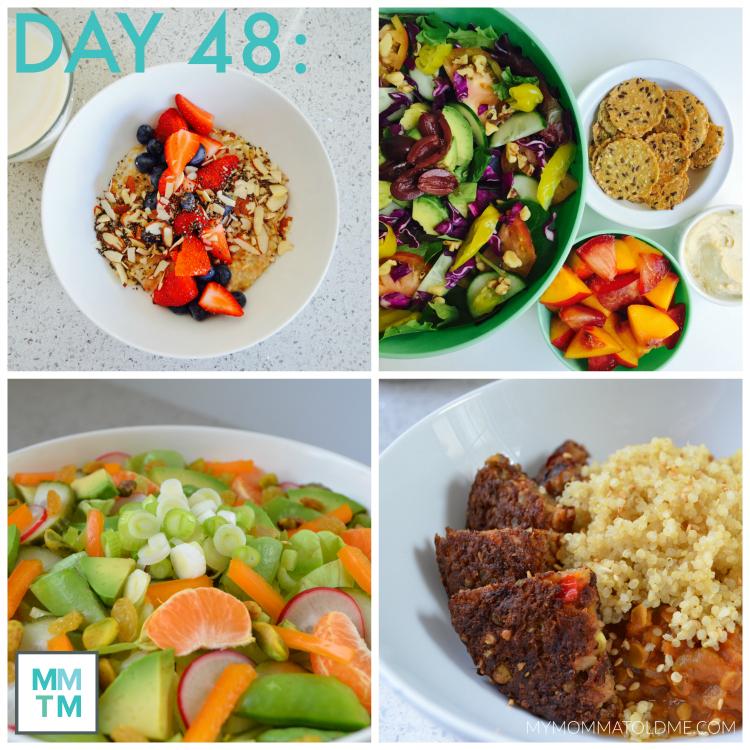 Dr Fuhrman 6 week eat to live plan Menu Day 48 Shopping List Nutritarian