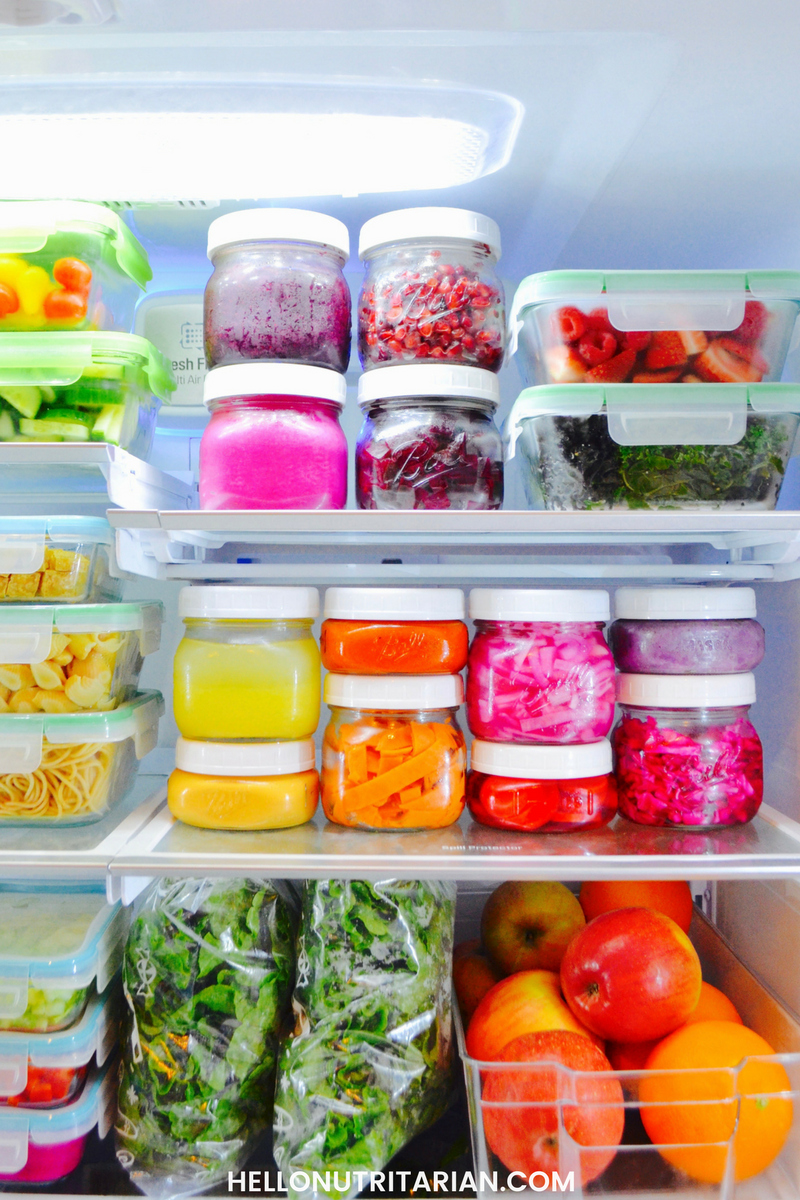 Dr fuhrman Eat to Live program 6 week plan nutritarian fridge nutritarian food prep whole food plant based dr greger nutritionfacts.org