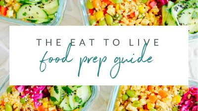 eat to live weekly food prep dr fuhrman nutritarian diet plan weekly meal prep no oil recipes the end of heart disease