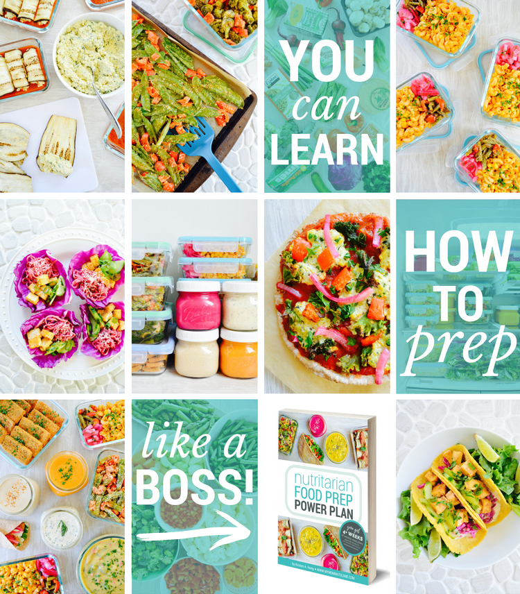 Nutritarian Food Prep Power Plan by Kristen Hong