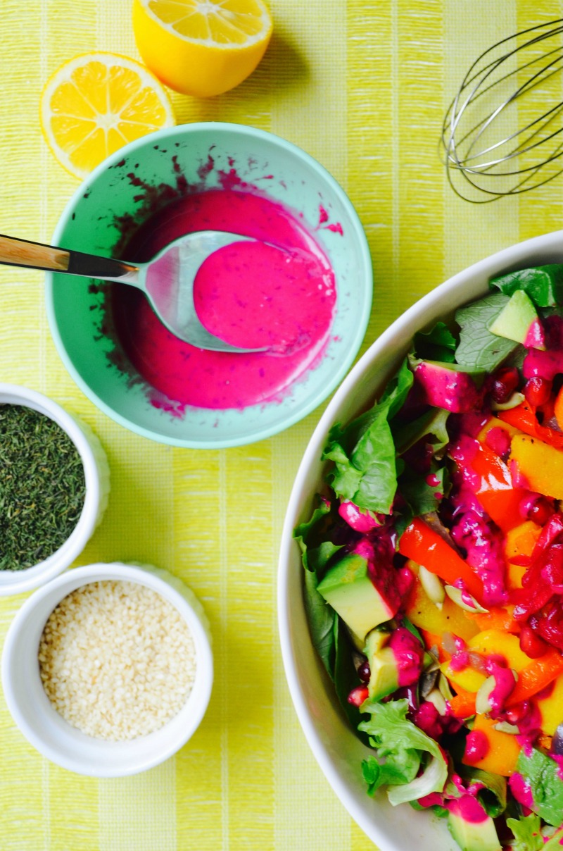 no oil beet hummus salad dressing dr fuhrman eat to live program dr greger daily dozen oil free recipe