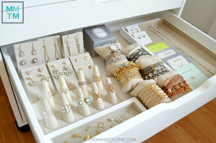 f17a182eb Stella & Dot Alex Ikea drawers jewelry storage ideas rings bracelets Stella  Dot Spring 2016 collection