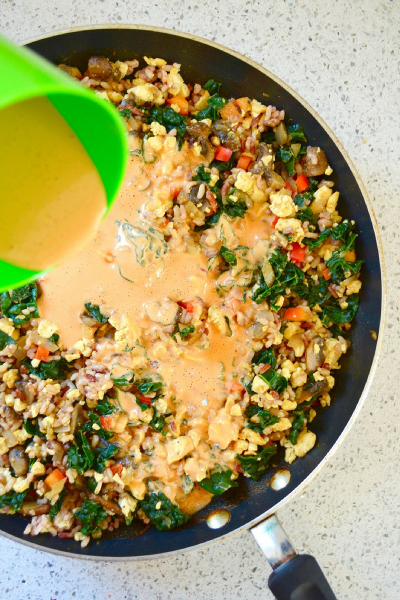 Cheesy kale casserole hello nutritarian vegan cheese sauce no oil no added salt dr fuhrman eat to live recipe nutritarian recipe forumfinder Images