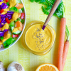 No Oil Carrot Ginger Salad Dressing recipe pic