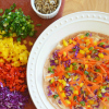Rainbow Hummus Recipe Pic 100
