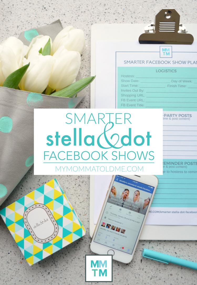 Stella Dot Facebook Show Stella and Dot Online Trunk Shows Facebook Trunk Shows Tips Tricks