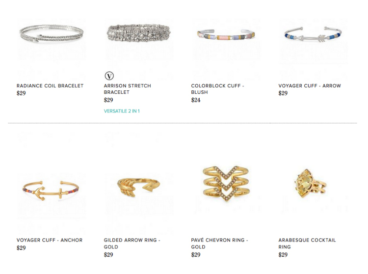 Stella Dot facebook trunk show tips tricks $30 and under rule