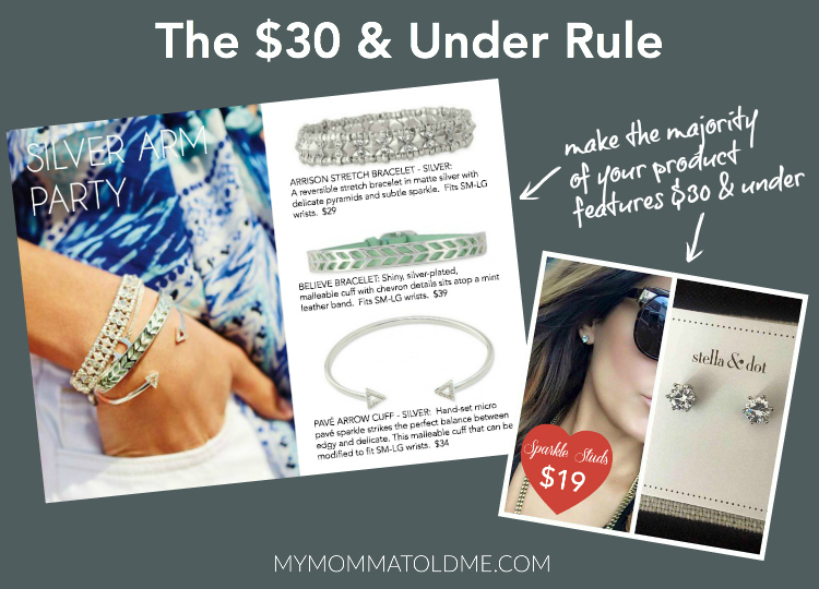 Stella Dot stylist facebook show tips online trunk show Smarter Stella & Dot Facebook Shows Product features