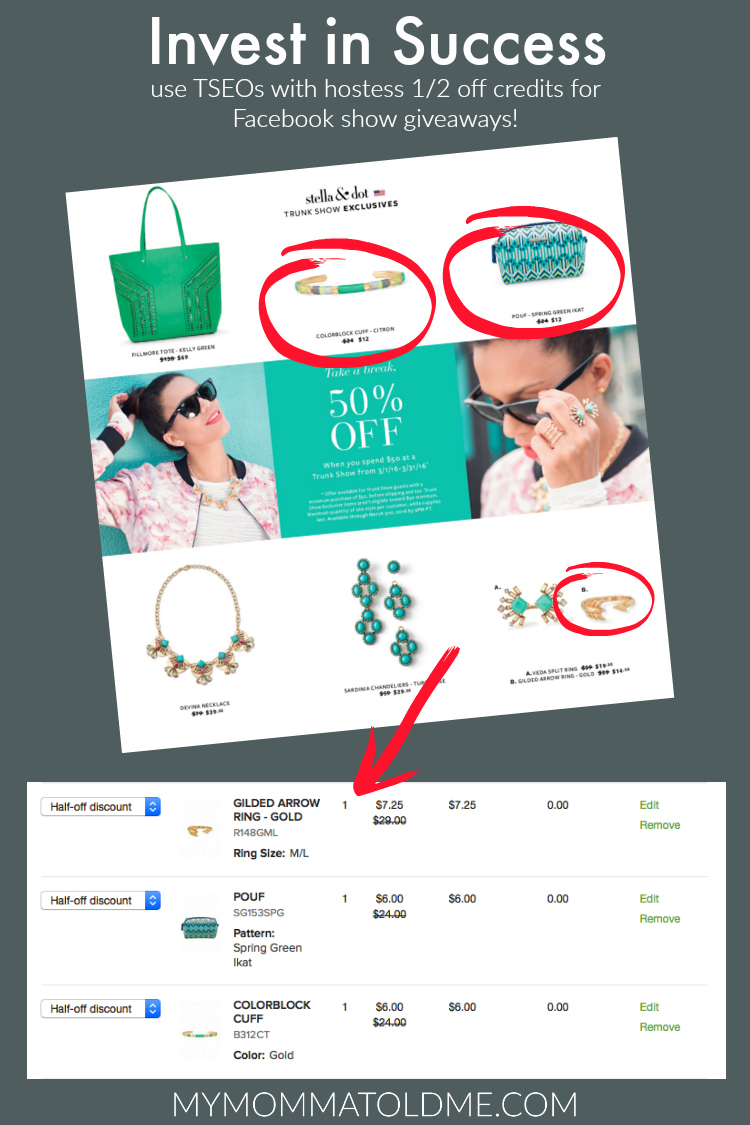stella dot facebook trunks show giveaways how to get giveaway product cheap