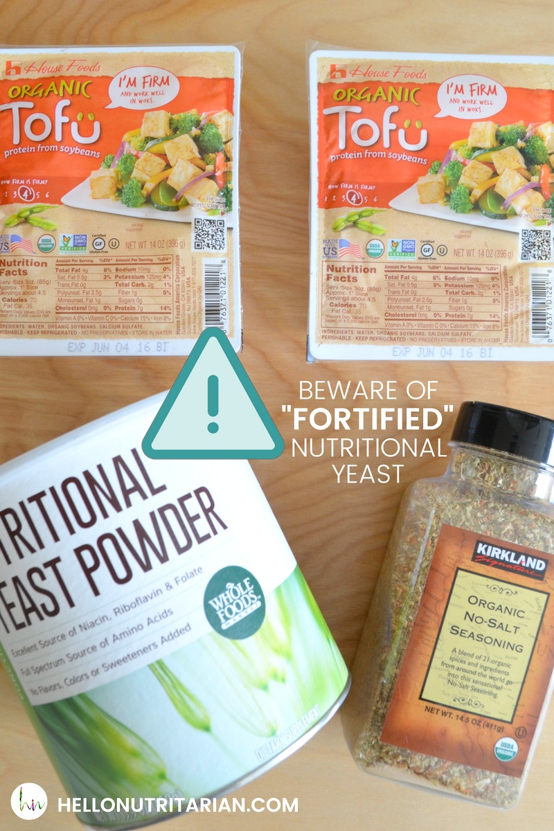 Nutritional Yest Warning which nutritional yeast is best do not buy fortified nutritional yeast