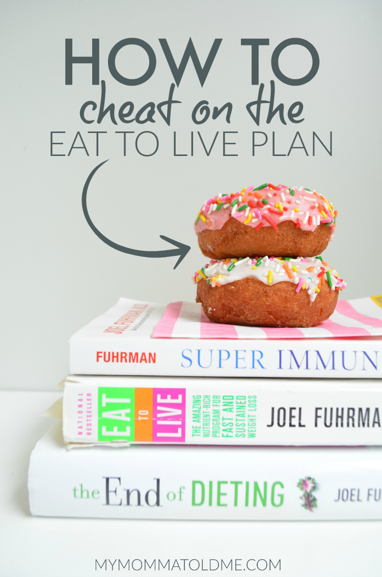 How to Cheat on Dr Fuhrman Eat to Live plan Nutritarian 6 week program End of Heart Disease End of Dieting PBS special Dr Oz
