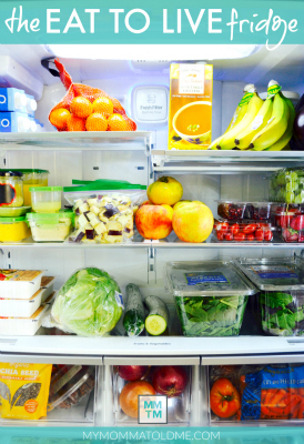 Dr Fuhrman Eat to Live 6 Week Program Clean Eating Fridge Tour BUTTON HI