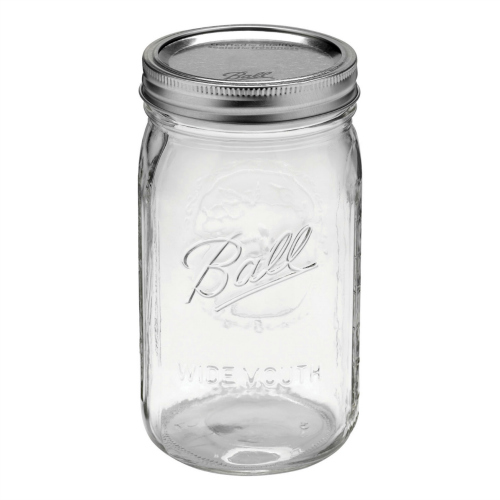 Quart Sized Wide Mouth Mason Jar