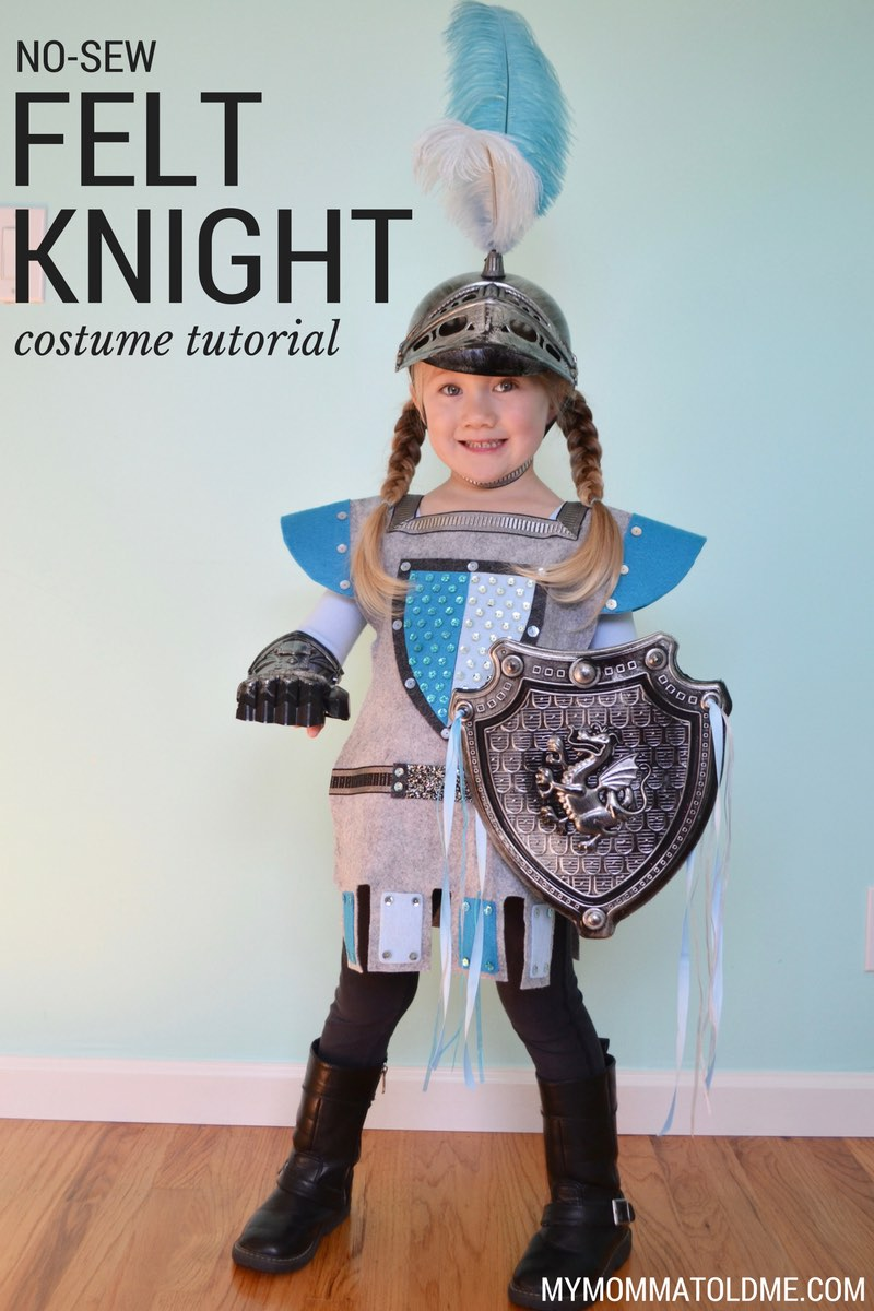 felt knight costume diy girl halloween costume ideas girl knight halloween costume