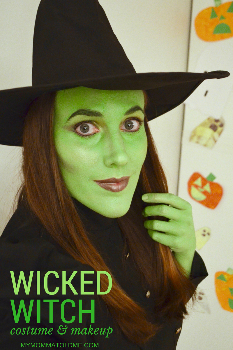 Wicked Witch Costume Makeup Hello Nutritarian