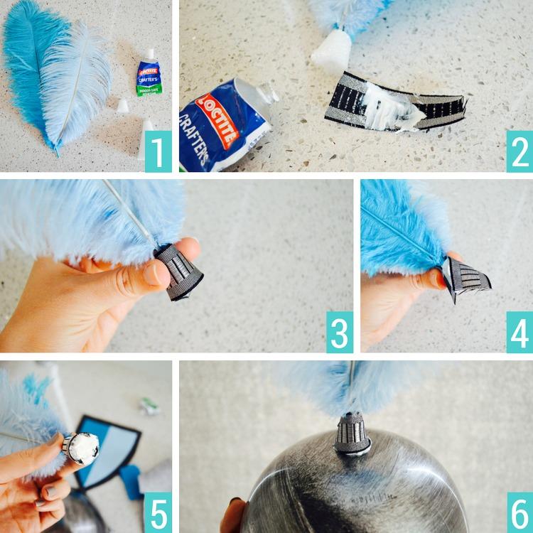 helmet tutorial felt knight halloween costume