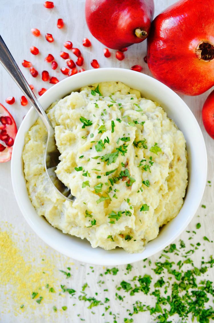 nutritarian mashed potatoes recipe nutritarian thanksgiving ideas dr fuhrman eat to live 6 week plan vegan no oil mashed potaoes