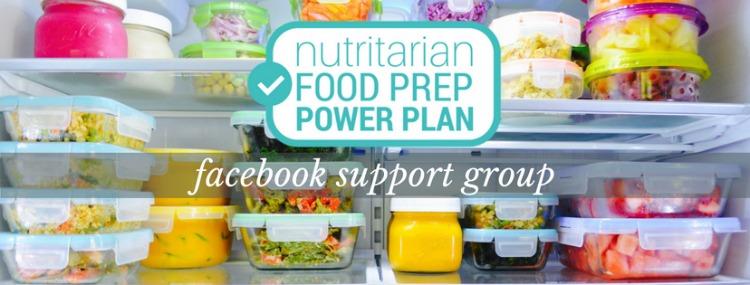 nutritarian food prep power plan facebook support group