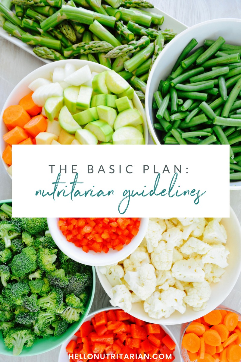The Basic Nutritarian Guidelines