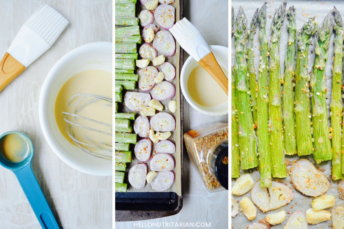 roasted asparagus and pea soup dr fuhrman nutritarian eat to live plan how to no oil no added salt recipe