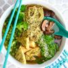 Nutritarian Pho Noodle Soup Recipe Image