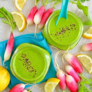 No Oil Spinach Pesto Salad Dressing Recipe Hello Nutritarian Dr Fuhrman Eat to Live 6 week plan oil free low salt vegan how not to die Dr Greger