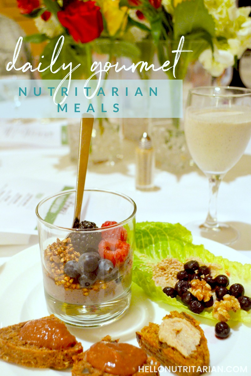 What you eat at a nutritarian getaway gourmet meals