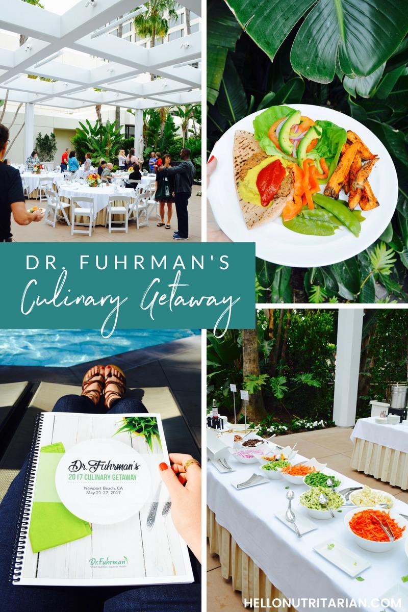 Dr Joel Fuhrman Eat to Live Diet Program 6 week plan Culinary getaway retreat