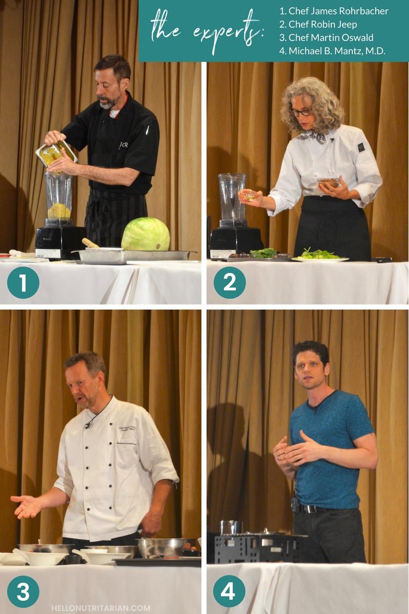 Dr Fuhrman Culinary Getaway Newport Beach the chefs