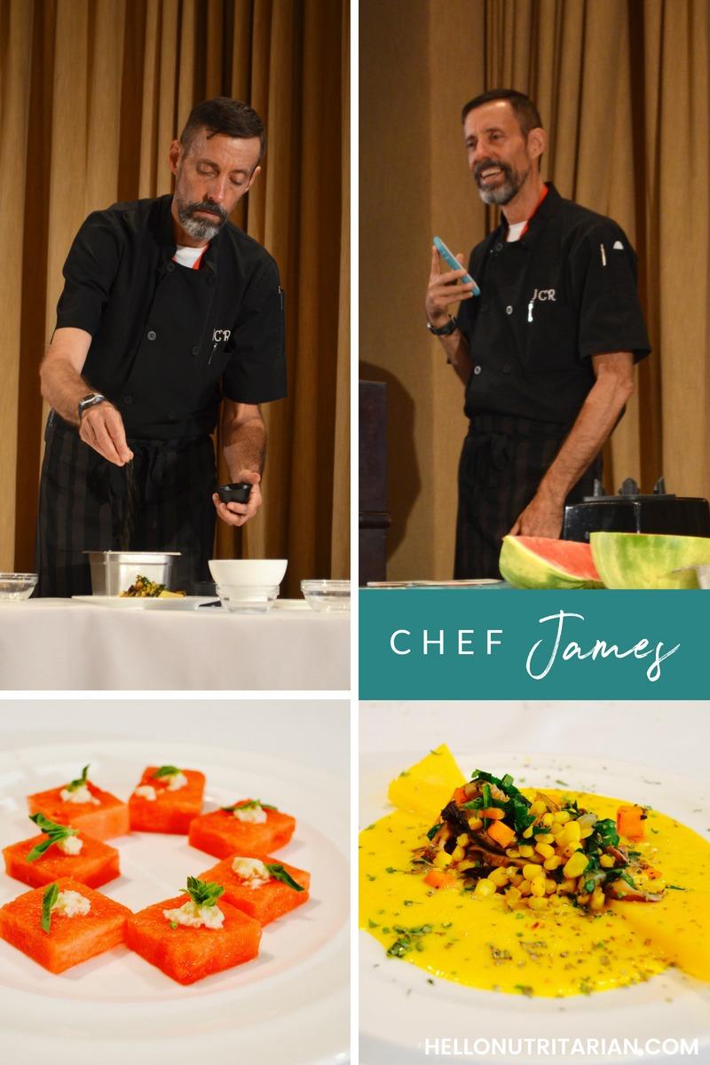 Dr. Fuhrman Culinary Getaway Chef James Rohrbacher nutritarian chef