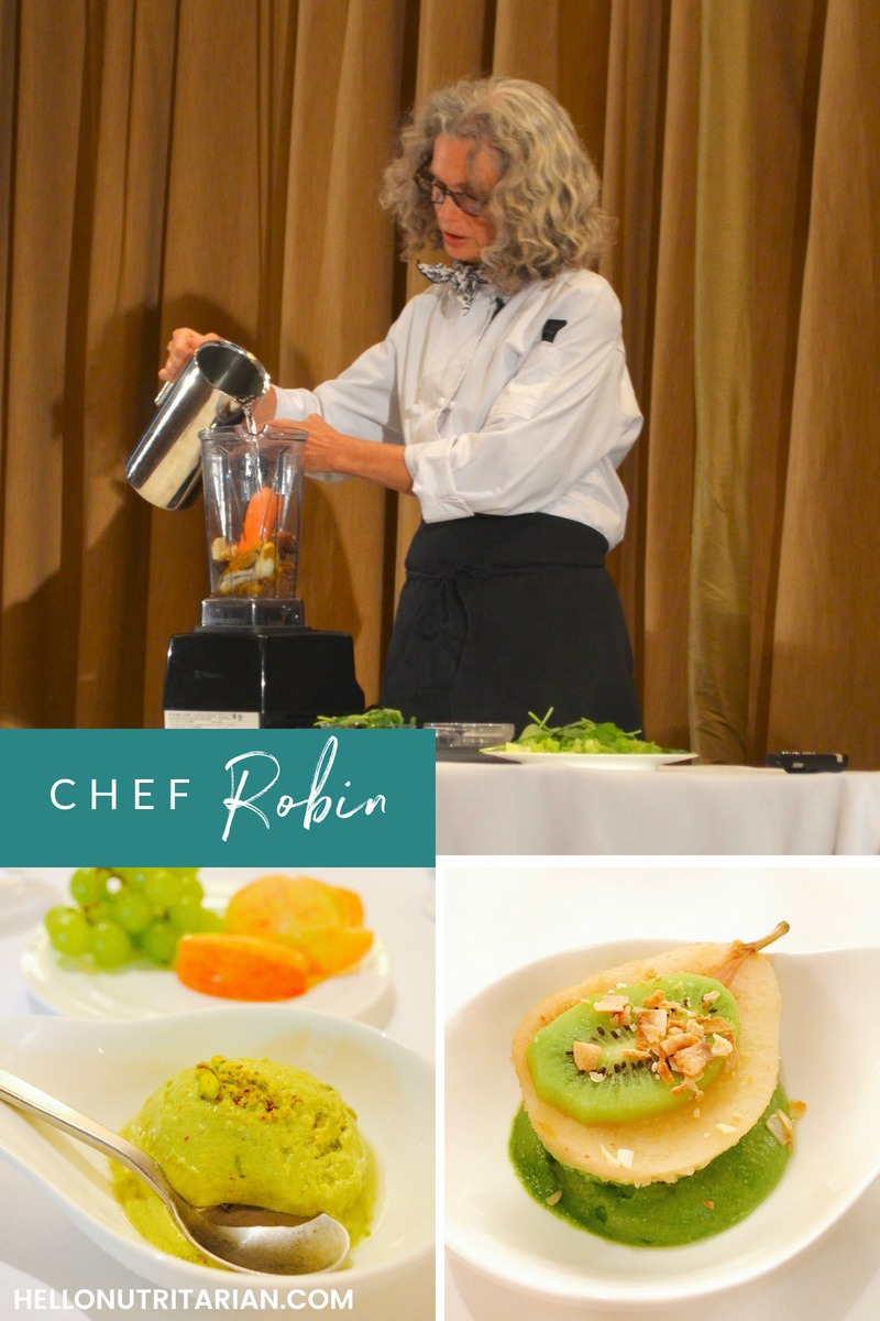 Dr. Fuhrman Culinary Getaway Chef Robin Jeep Nutritarian Personal Chef