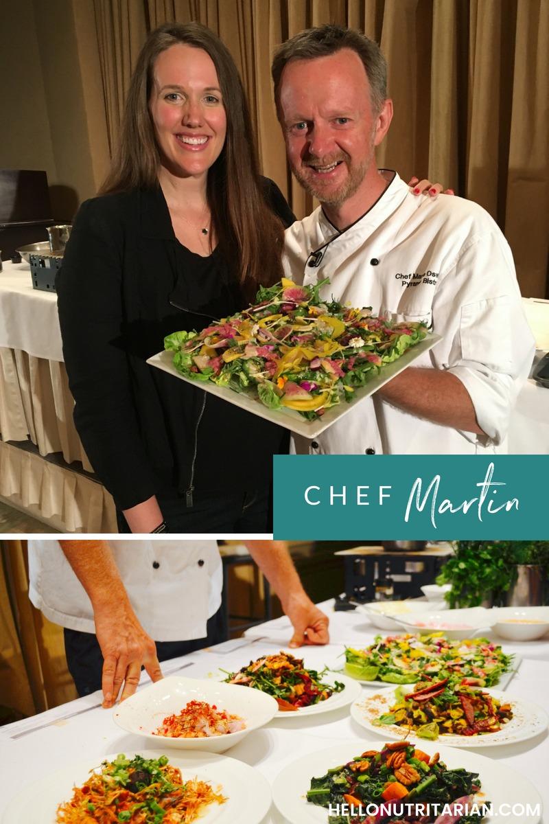 Chef Martin Oswald Dr. Fuhrman Culinary Getaway Nutritarian Chef
