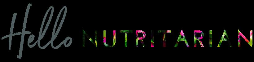 Hello Nutritarian