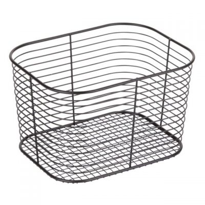 iDesign Black Wire Basket Image Hello Nutritarian Shop